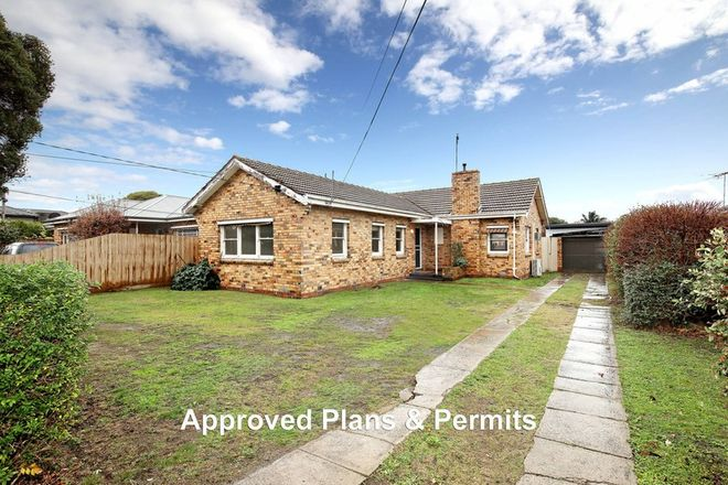 Picture of 16 Marlborough Street, BENTLEIGH EAST VIC 3165