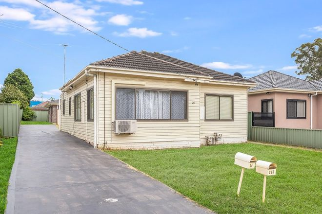 Picture of 26 & 26B Dorothy Street, CHESTER HILL NSW 2162