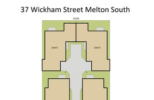 Picture of 1-6/37 Wickham Street, Melton South VIC 3338