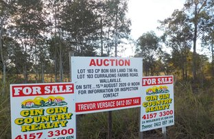 Picture of Lot 103 Currajong Farms Road, Wallaville QLD 4671