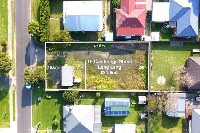 Picture of 16 Cambridge Street, LANG LANG VIC 3984