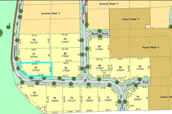 Picture of Lot/76 Lomandra Drive, KIALLA VIC 3631