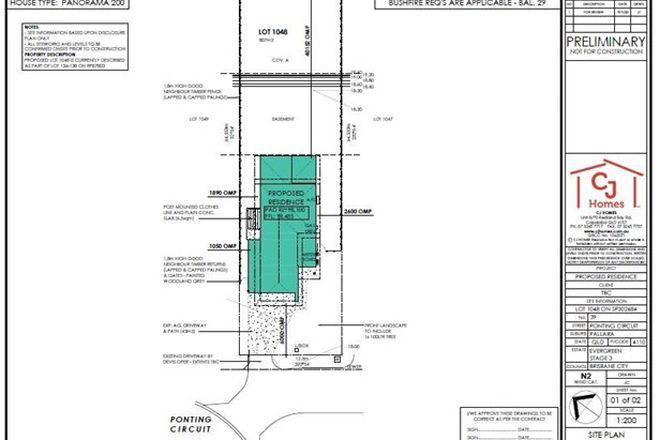 Picture of Lot 1048 Ponting Circuit (Evergreen Estate), PALLARA QLD 4110