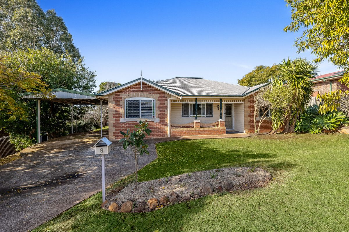 8 Dalzell Crescent, Darling Heights QLD 4350, Image 0