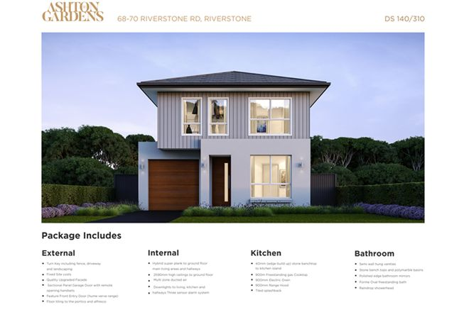 Picture of Lot 38/68-70 Riverstone Road, RIVERSTONE NSW 2765