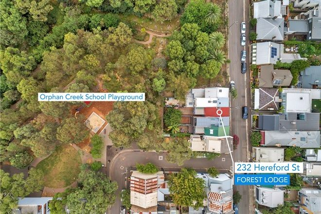 Picture of 232 Hereford Street, FOREST LODGE NSW 2037