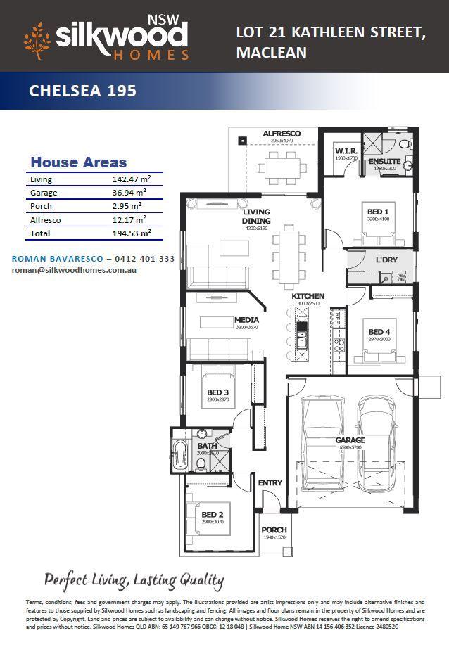 Lot 21 Kathleen Street, MacLean NSW 2463, Image 2
