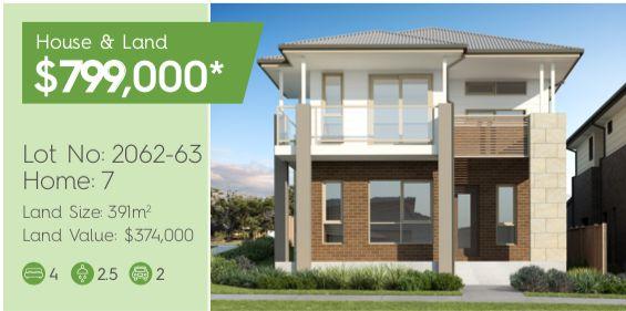 Lot 2062-6 Corner Barlow Boulevarde & Goldstone Way, Box Hill NSW 2765, Image 0