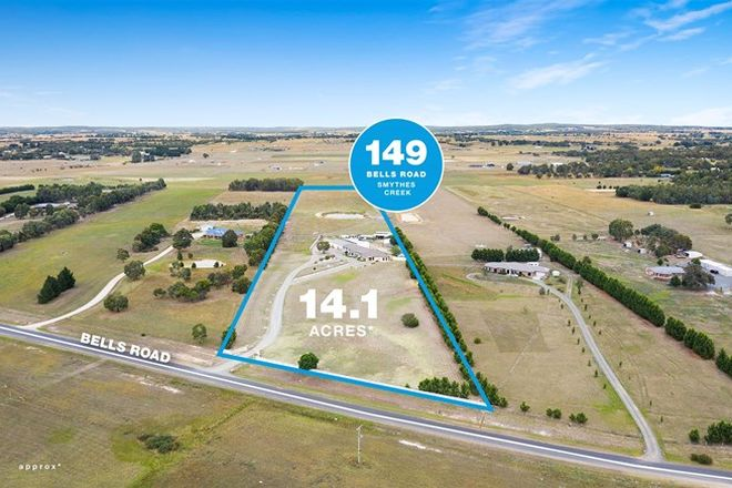 Picture of 149 Bells Road, SMYTHES CREEK VIC 3351