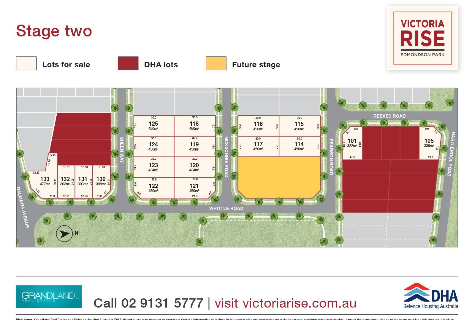 Lots @ Victoria Rise Stage 2, Edmondson Park NSW 2174, Image 2