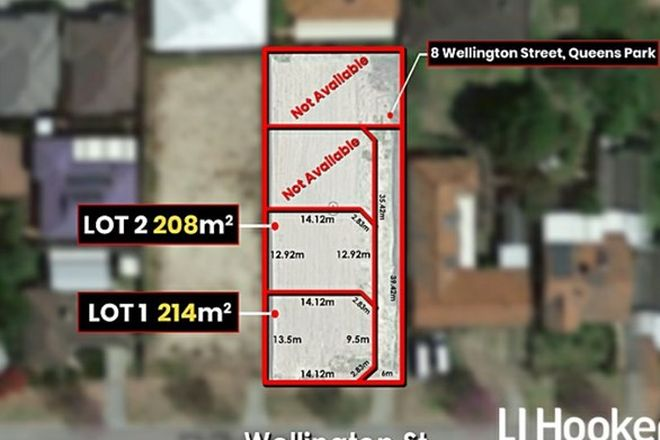 Picture of 8A Wellington Street, QUEENS PARK WA 6107