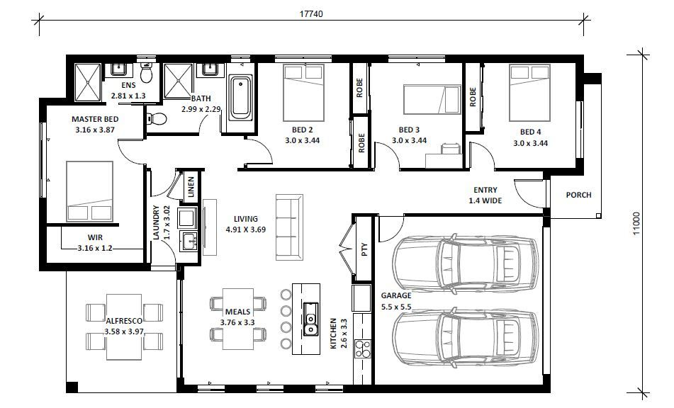 Lot 10 Bluebell Crescent, Spring Farm NSW 2570, Image 1