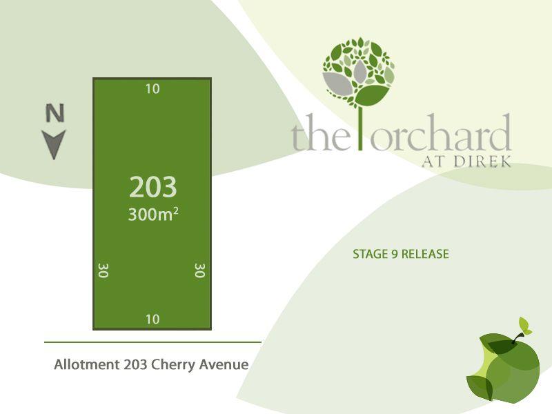 Lot 203 Cherry Avenue, Direk SA 5110, Image 0