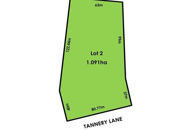 Picture of Lot 2/319 Tannery Lane, MANDURANG VIC 3551