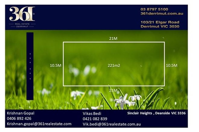 Picture of Sinclair Heights Estate, DEANSIDE VIC 3336