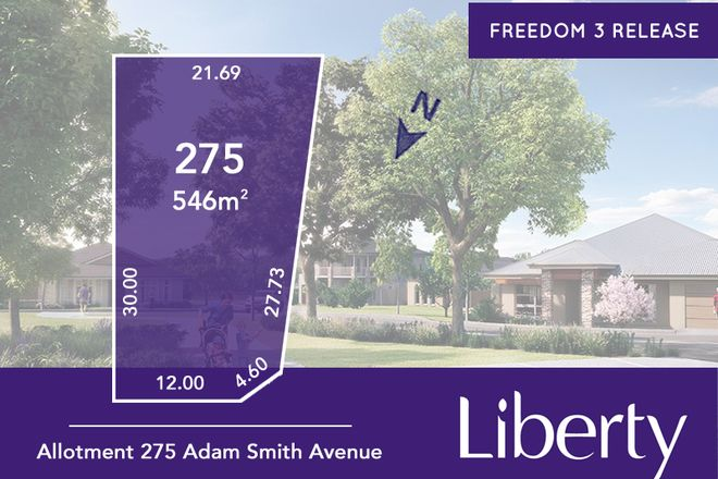 Picture of Lot 275 Adam Smith Avenue, TWO WELLS SA 5501