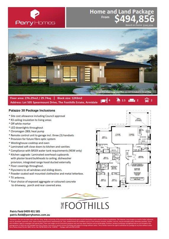 Lot 505 Spearmount Drive, Armidale NSW 2350, Image 2