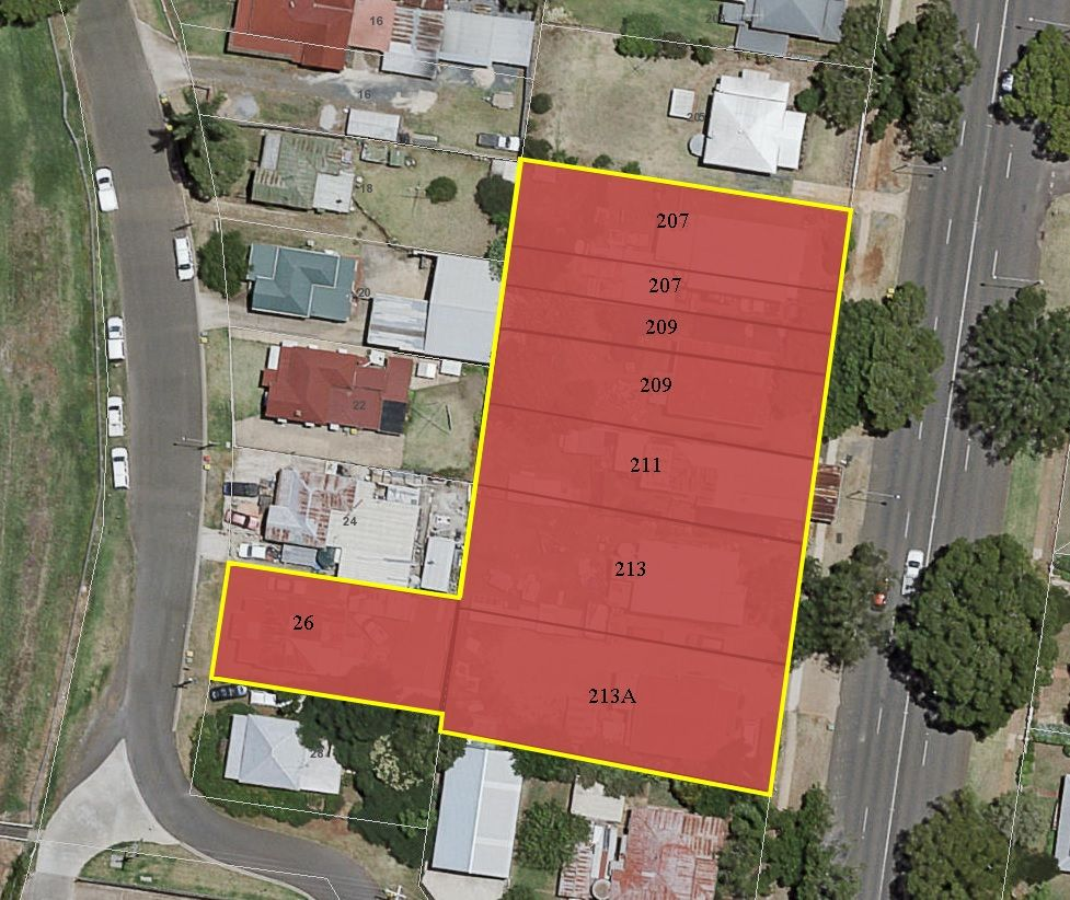 207-213A Ruthven Street, North Toowoomba QLD 4350, Image 0