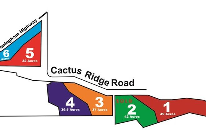 Picture of 0 Cnr Cunningham Hwy & Cactus Ridge Rd, RODGERS CREEK QLD 4370