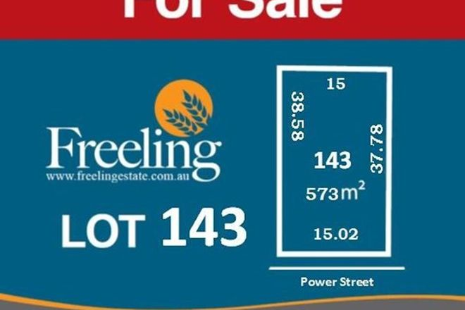 Picture of Lot 143 Power Street, FREELING SA 5372
