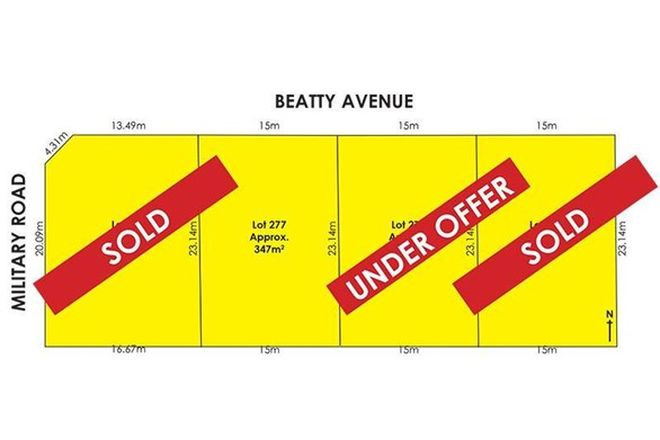 Picture of Lot/277 Beatty Avenue, TAPEROO SA 5017