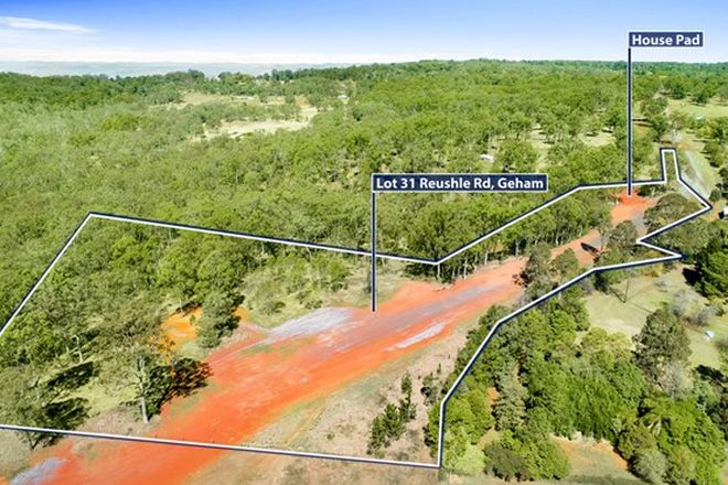 Picture of Lot 31 Reushle Road, GEHAM QLD 4352