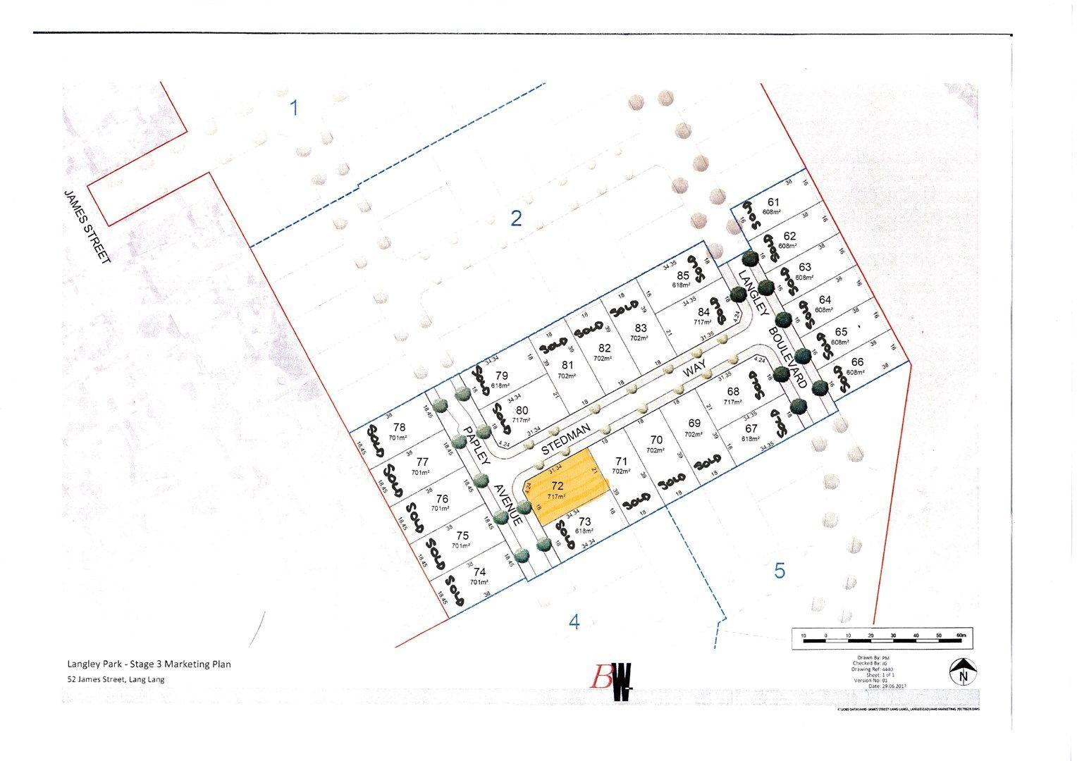 Lot 72 Langley Estate, Stage 3, Lang Lang VIC 3984, Image 0