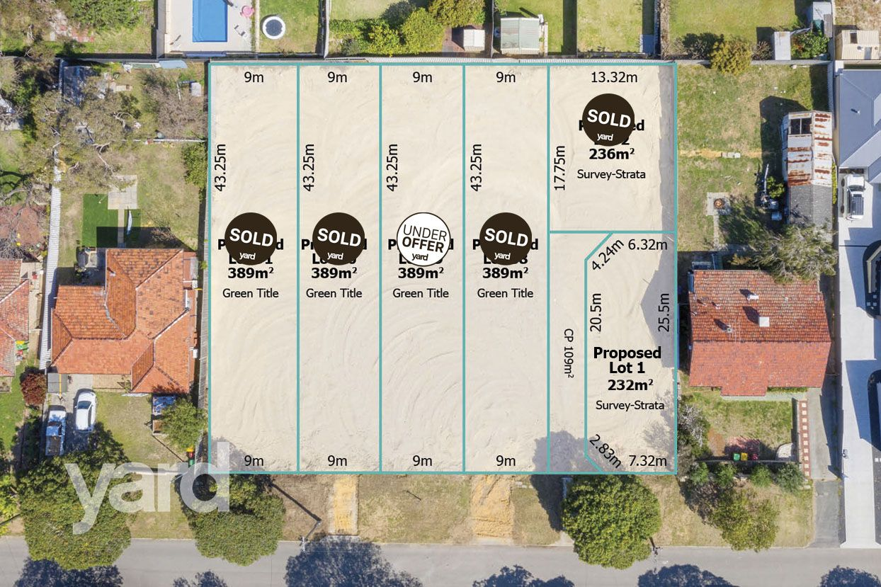 Vacant land in 19A Arkwell Street, WILLAGEE WA, 6156