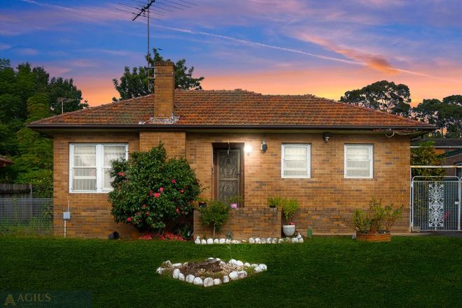 Picture of 8 First Avenue, SEVEN HILLS NSW 2147