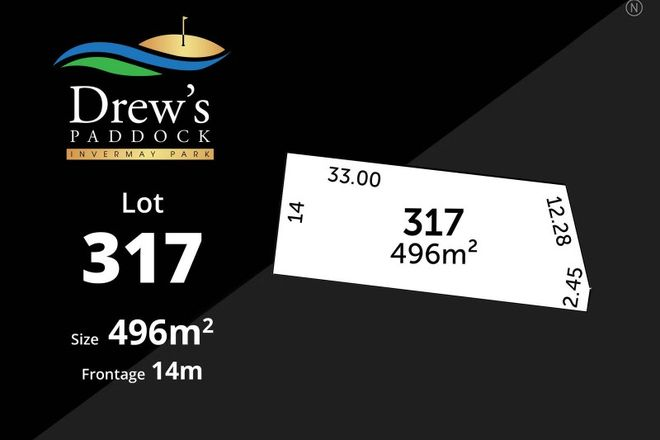 Picture of Drews Paddock/Lot 317 Divot Circuit, INVERMAY PARK VIC 3350