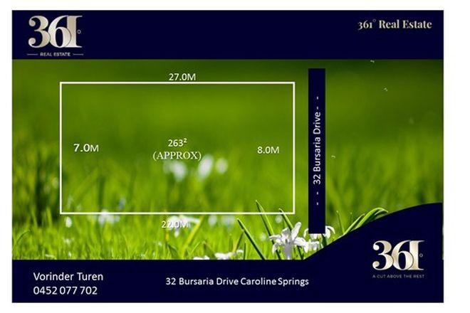 Picture of 32 Bursaria Drive, CAROLINE SPRINGS VIC 3023