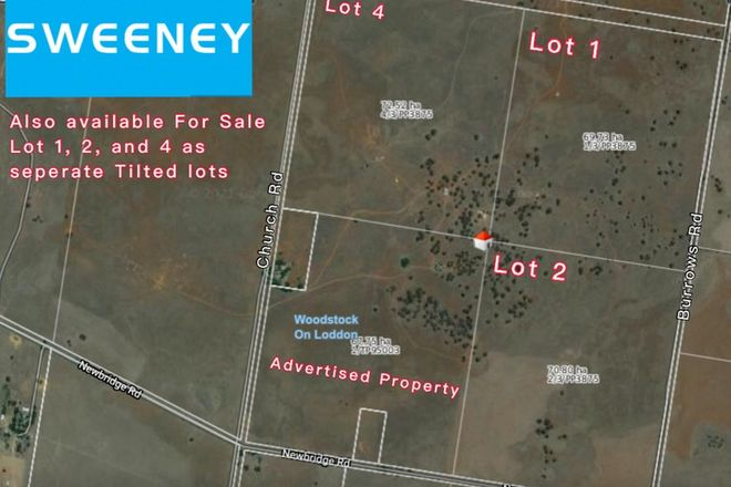 Picture of 293 church road, WOODSTOCK ON LODDON VIC 3551