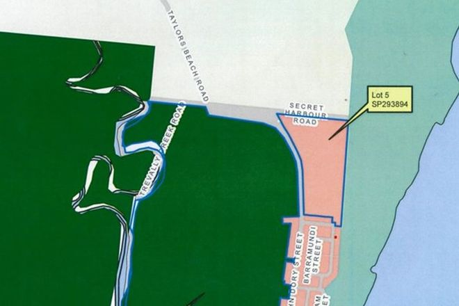 Picture of Lot 5 Taylors Beach Road, TAYLORS BEACH QLD 4850