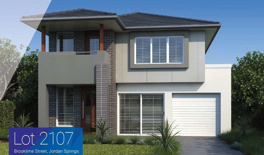 Lot 2107 Brooklime St, Jordan Springs NSW 2747, Image 0