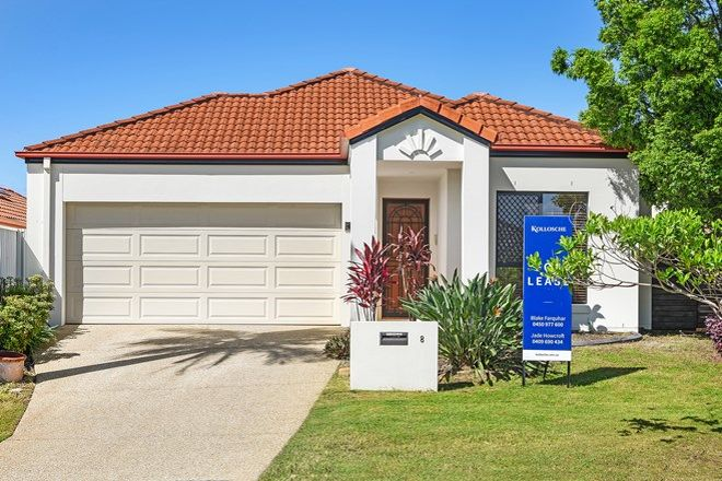 Picture of 8 Grenada Court, VARSITY LAKES QLD 4227