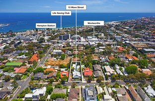Picture of 15 Wave St, Hampton VIC 3188