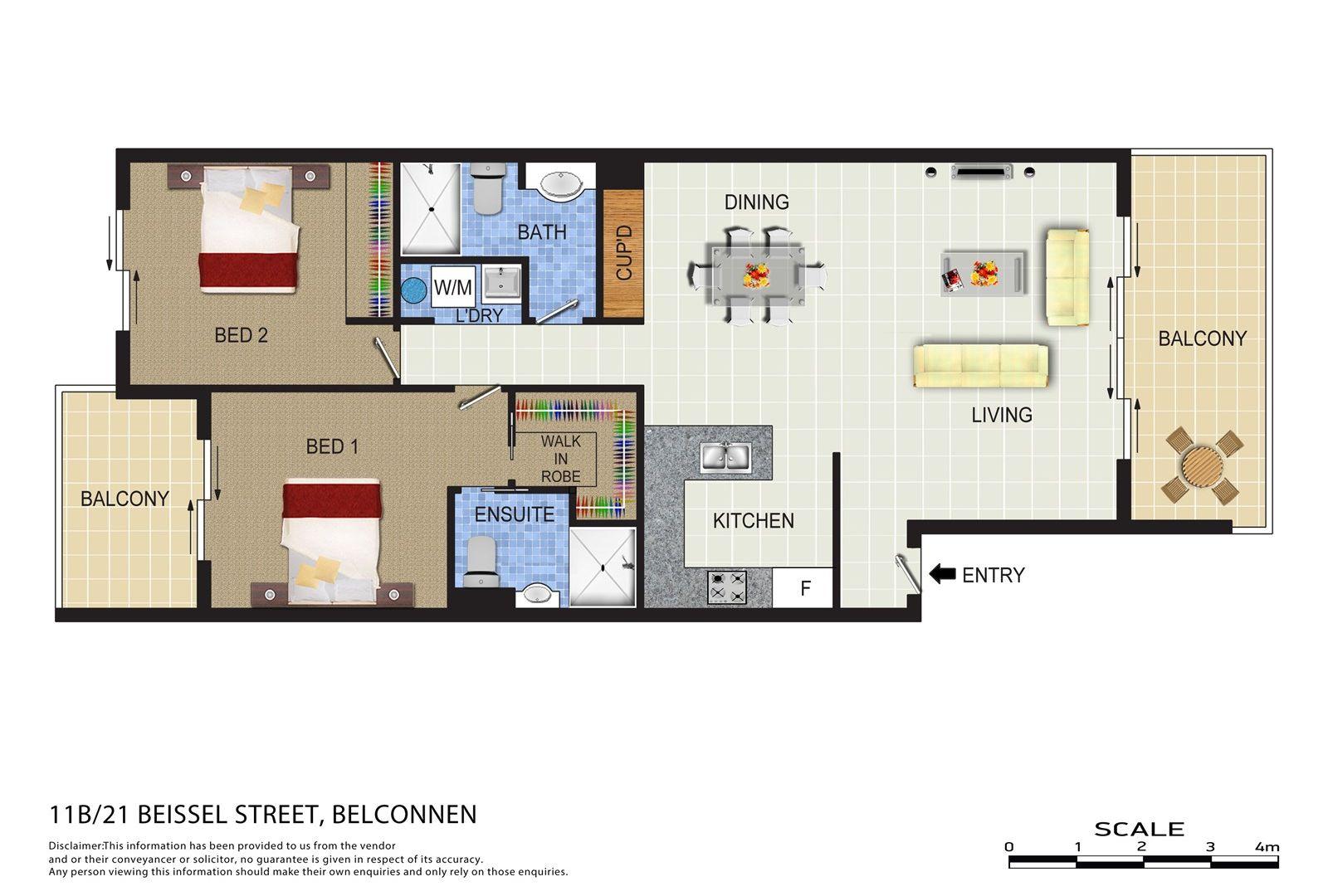 11B/21 Beissel Street, Belconnen ACT 2617, Image 1