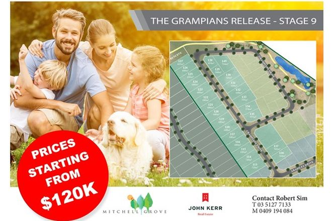 Picture of Lot 132 Mitchell Grove, Grampians Drive, MOE VIC 3825