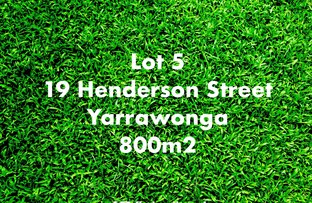 Picture of Lot 5/19 Henderson Street, Yarrawonga VIC 3730
