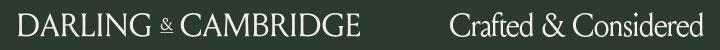 Branding for Darling & Cambridge