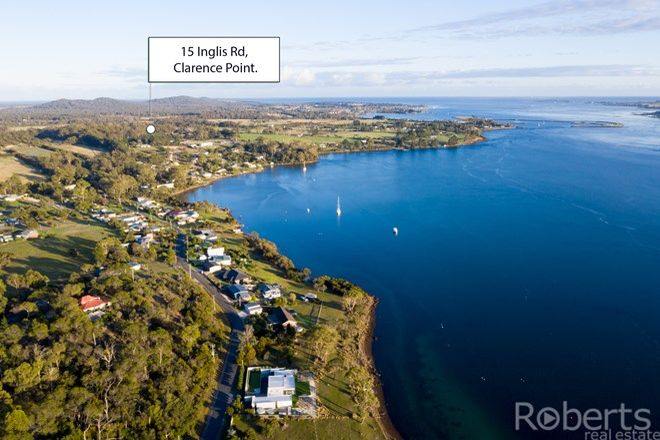 Picture of 15 Inglis Road, CLARENCE POINT TAS 7270