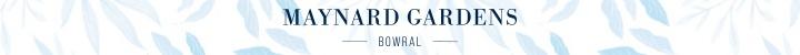 Branding for Maynard Gardens