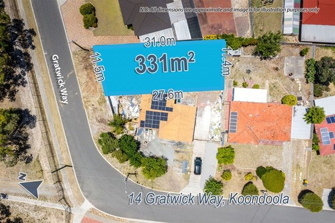 Picture of 14 Gratwick Way, KOONDOOLA WA 6064