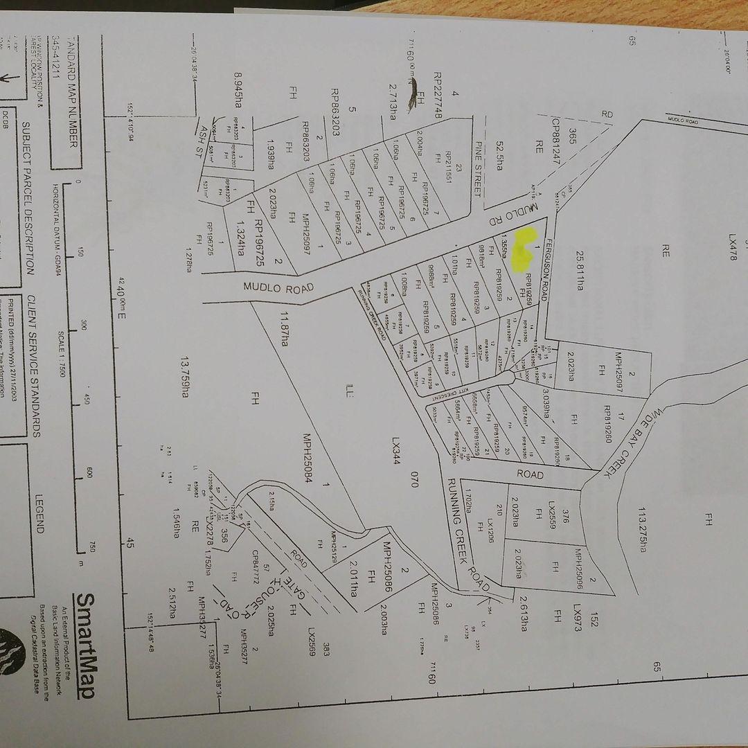 Lot 1 Mudlo Road, Kilkivan QLD 4600, Image 0