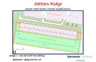 Picture of Lots 63 to Keith Andrews Avenue, South West Rocks NSW 2431