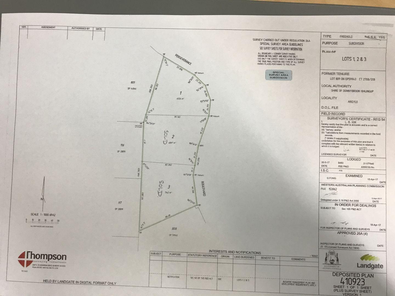 Lot 1/809 Perseverance Boulevard, Argyle WA 6239, Image 2