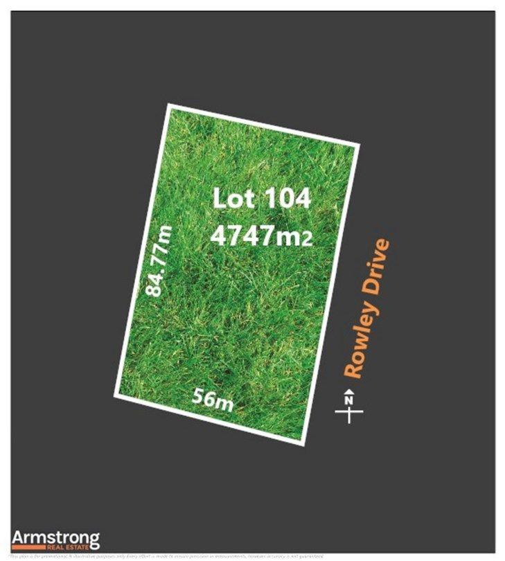 Lot 104 Rowley Drive, Winchelsea VIC 3241, Image 0