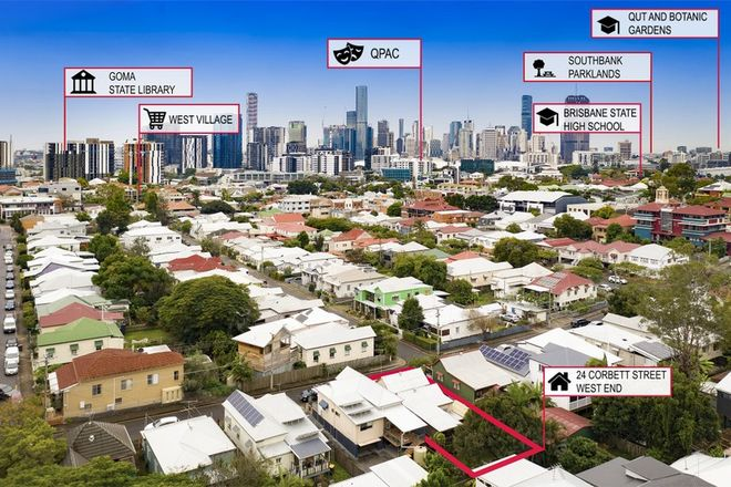 Picture of 24 Corbett Street, WEST END QLD 4101