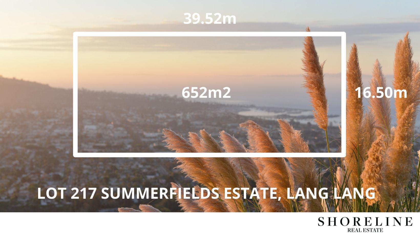 Lot 217 Summerfields Estate, Lang Lang VIC 3984, Image 1
