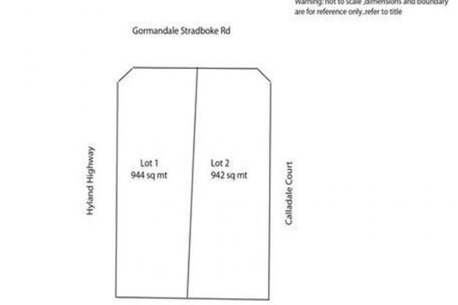Picture of Lot 2/3 Gormandale-Stradbroke Road, GORMANDALE VIC 3873